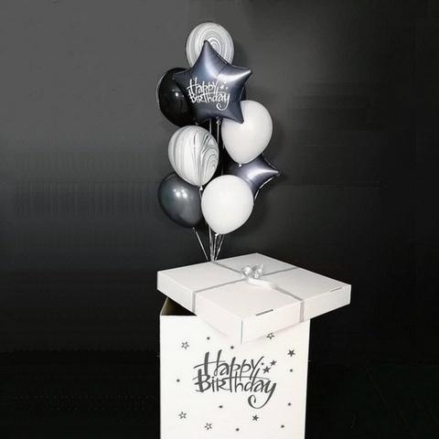 Коробка с шарами -