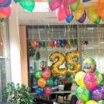 Украшение рабочего места на день рождения
